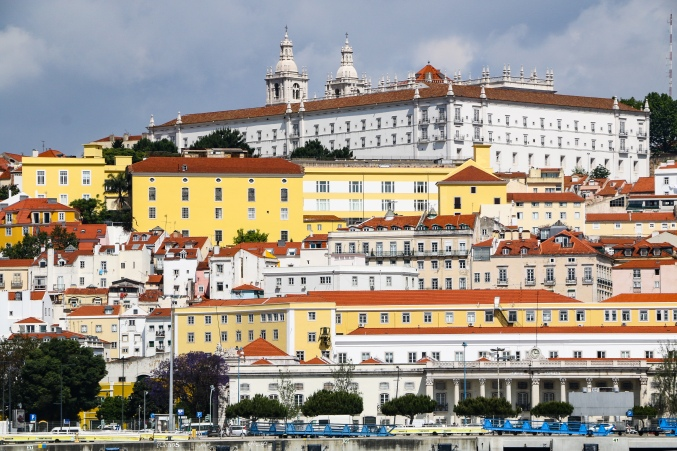 Lisbon from the Targus river